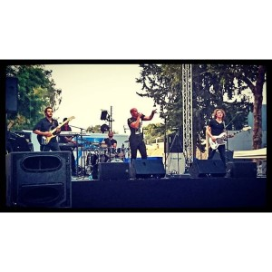 Coindrop band is one of the reasons I came to the Mayditerranean Festival #coindrop